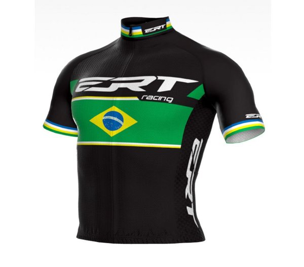 Camisa New Elite ERT Racing Campeão Brasileiro Preta