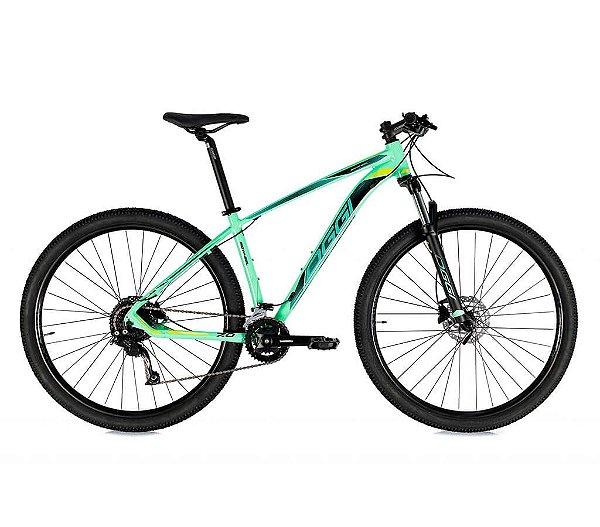 Bicicleta Aro 29 OGGI Big Wheel 7.0 MTB 18 Velocidades Grupo Shimano Alivio Freio Hidráulico