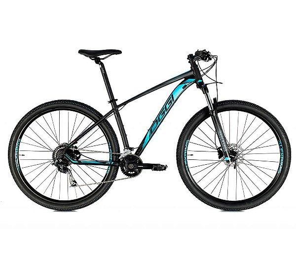 Bicicleta Aro 29 OGGI Big Wheel 7.1 MTB 18 Velocidades Grupo Shimano Alivio/Deore Freio Hidráulico