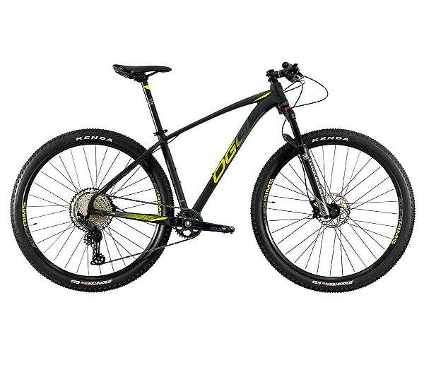 Bicicleta Aro 29 OGGI Big Wheel 7.4 MTB 12 Velocidades Grupo Shimano SLX Freio Hidráulico