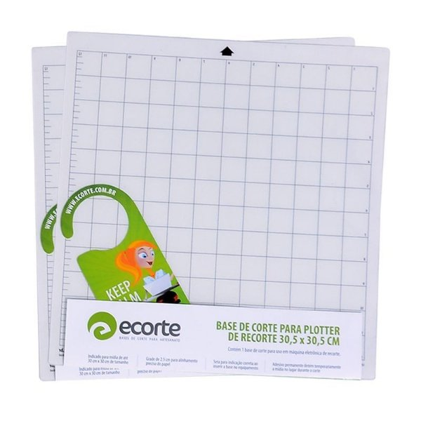 NOVO Kit 2 bases de corte da marca Ecorte 30,5 x 30,5 cm