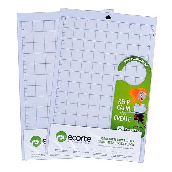 Kit 2 bases de corte da marca Ecorte A4 20,3 x 30,5