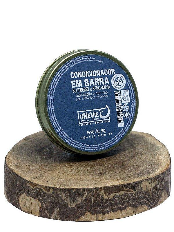 Condicionador em barra 30g (Blueberry e Bergamota)