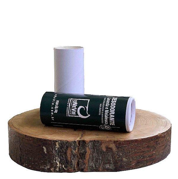 Desodorante Bastão 50g (Lavanda e Melaleuca) *Cartucho em papel*