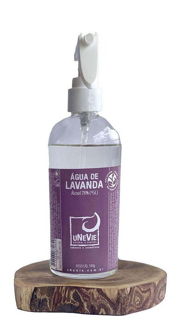 Água de Lavanda 219 mL (com Álcool 70%)