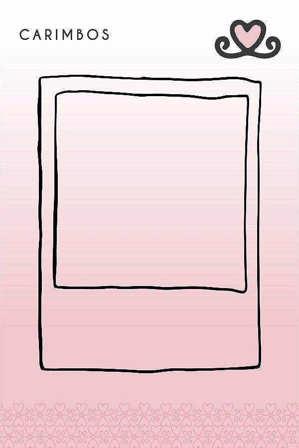 Carimbo Polaroid ( Coleção Vocês, Pra Sempre) - pacote com 3 unidades
