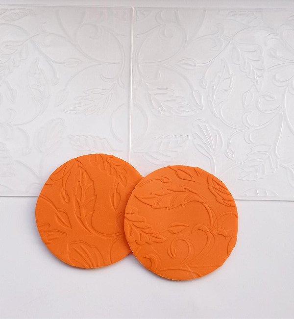 Marcador Textura Folhas