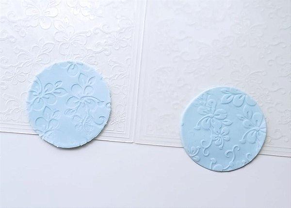 Marcador Textura Flor de Hibisco Moana