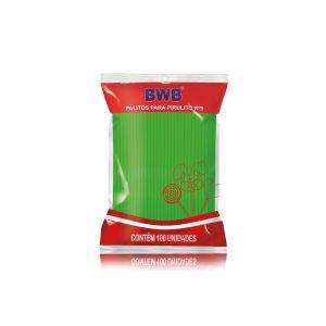 Tubo Pet N° 9 Verde Sólido Palito (BWB)