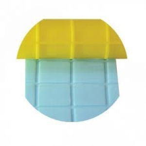 Rolo Amarelo Artístico Quadrados Blue Star