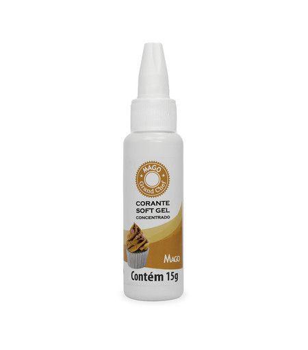 Corante Soft gel Mago Laranja 15 g
