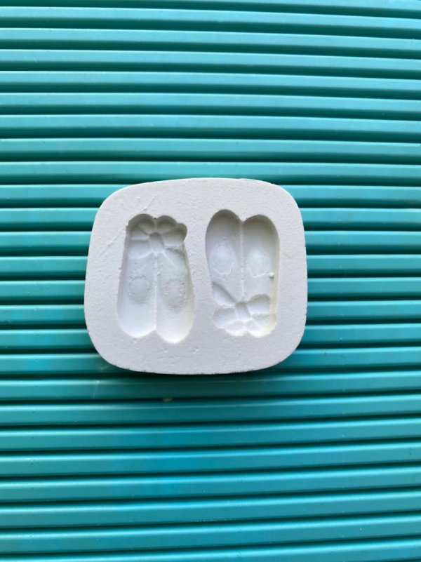 Molde de silicone Sapatilhas de Ballet (Bailarina)