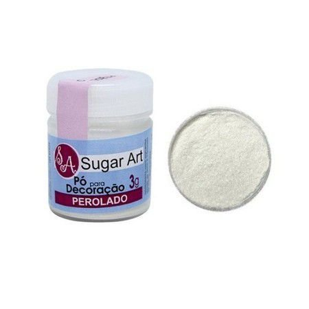 Pó Para Decoração Perolado 3g  SugarArt
