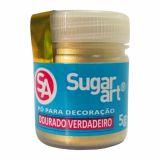 Pó para Decoração Dourado Verdadeiro SugarArt