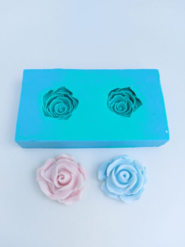 Molde de silicone de Rosas