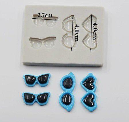Molde de silicone de Óculos (Modelo 2)