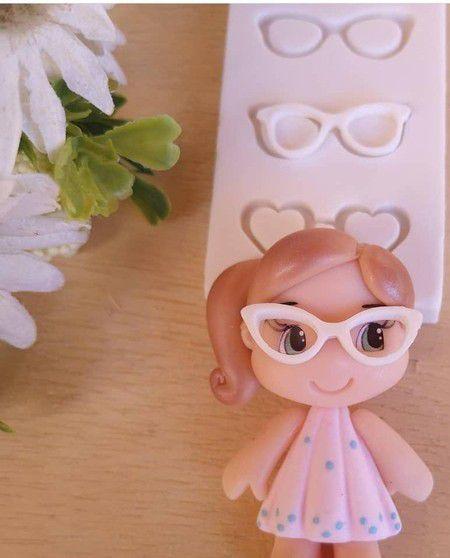 Molde de silicone de Óculos