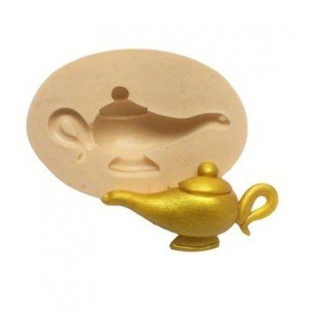 Molde de silicone de Lâmpada Mágica- Aladdin