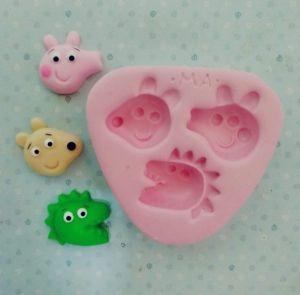 Molde Kit Peppa Pig