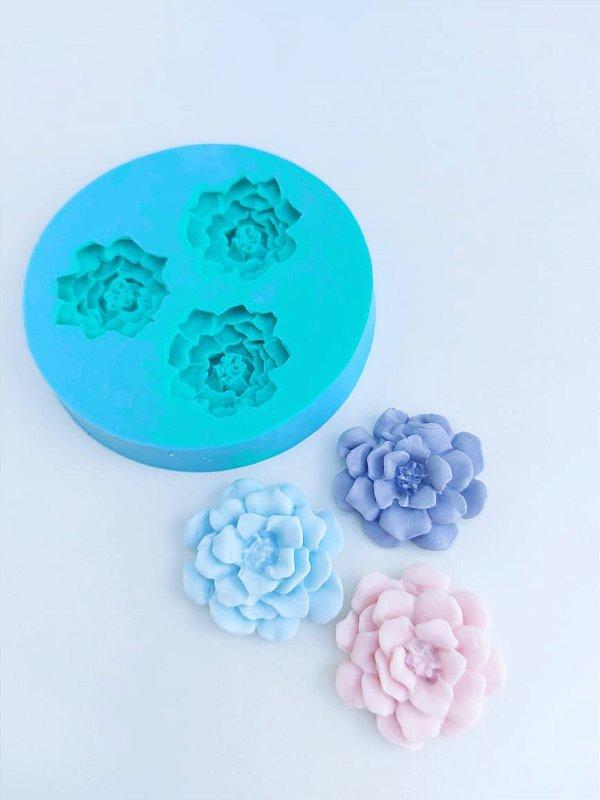 Molde de silicone de Flores/ Rosas