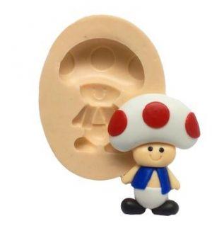 Molde do Super Mário Bros. - Toad