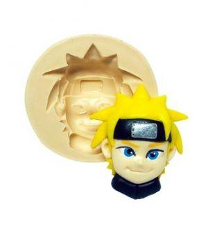Molde de silicone Rosto do Naruto