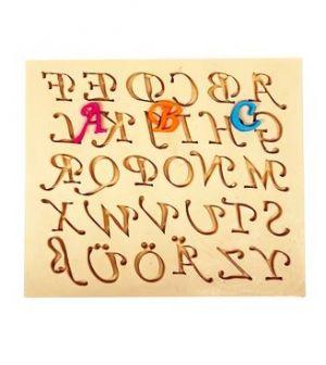 Molde de silicone de Alfabeto