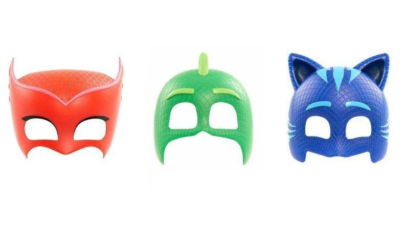 Kit Máscara do Pj Masks 4,0 cm