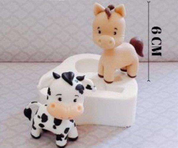 Molde de silicone de Corpinho Animal Universal- Modelo 3