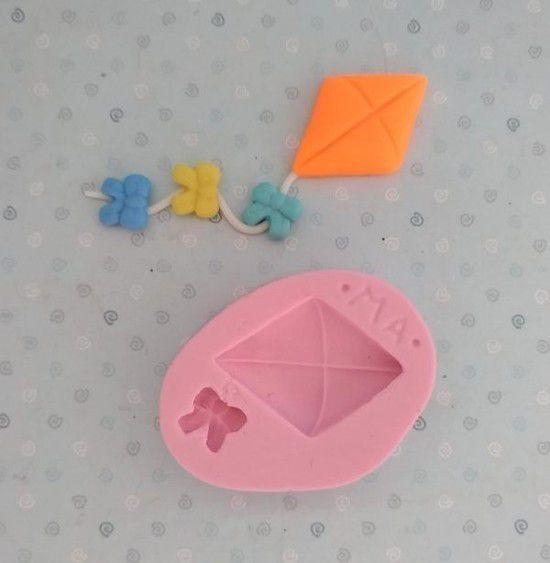 Molde de silicone de Brinquedos Pipas