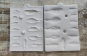 Molde de silicone Miolo/ Frisador de Flores