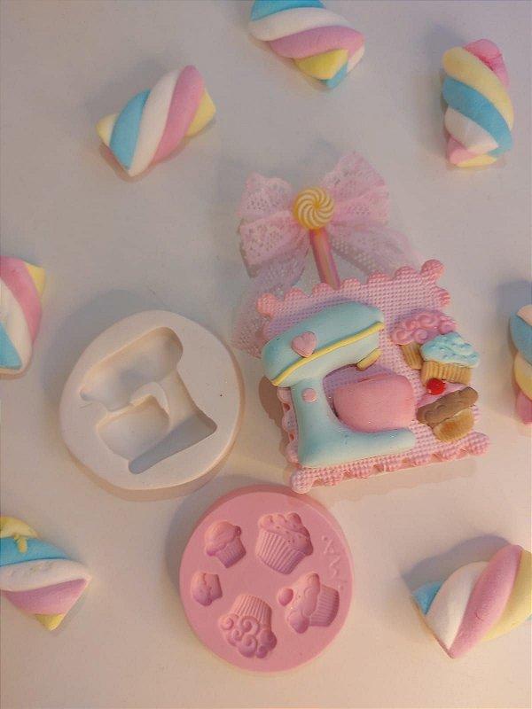 Molde de silicone de Mini Cupcakes
