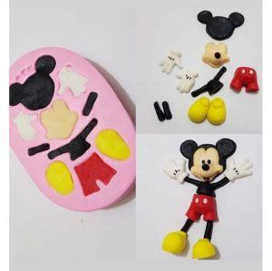 Molde de silicone do Mickey 3D