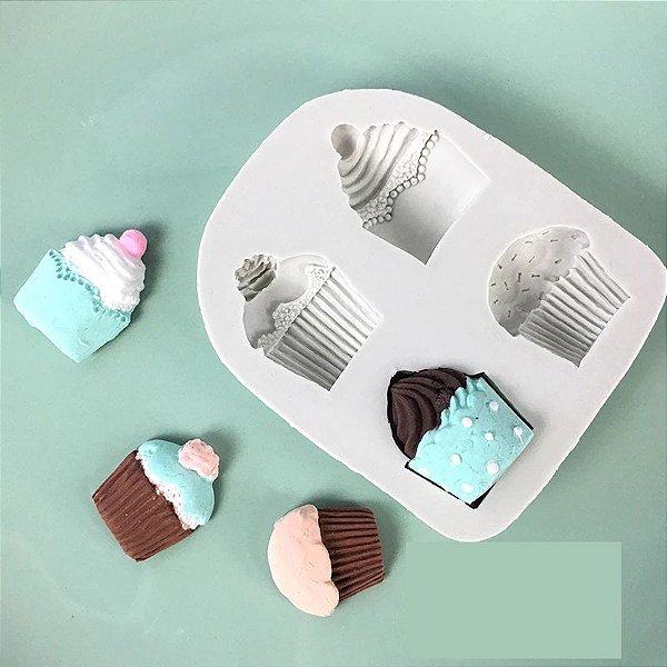 Molde de silicone de Cupcakes