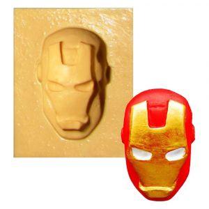 Molde de silicone Rosto do Homem de Ferro