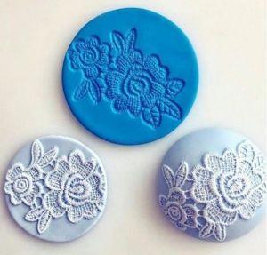 Molde de silicone de Renda/ Flores- Modelo 2