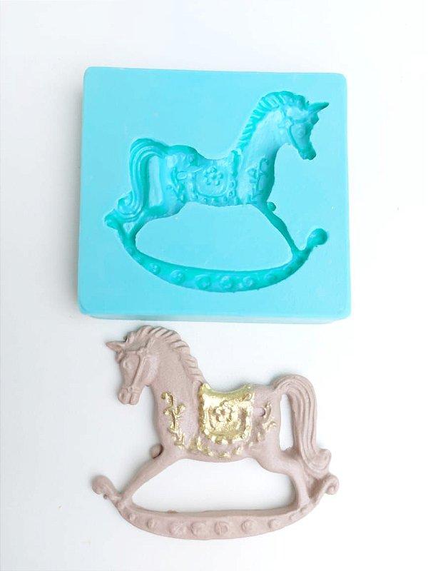 Molde de silicone de Cavalo de Balanço (Modelo 2)