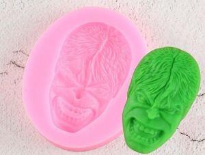 Molde de silicone Rosto do Hulk Herói