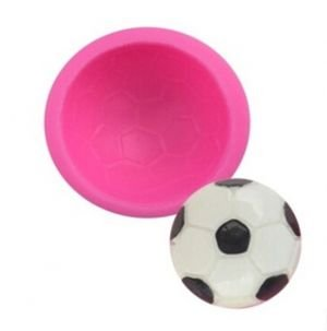 Molde Silicone Bola de Futebol