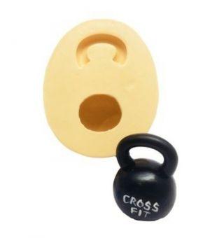 Molde de silicone de Academia/ Cross Fit/ Peso