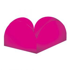 Formas p/ Doce 4 Pétalas Pink