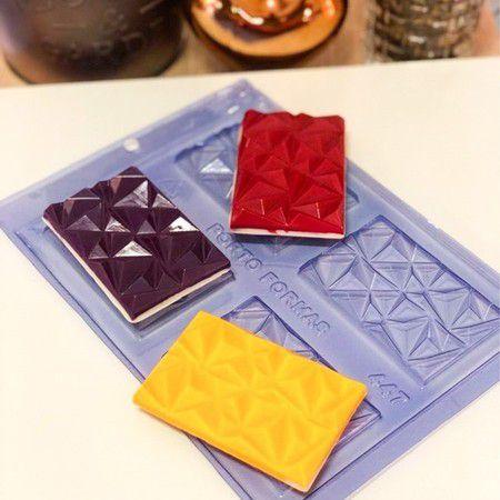 Fôrma de Acetato - Tablete 3D (447) Porto Formas