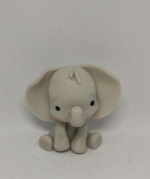 Elefante de biscuit para enfeite de festa / Mimo de luxo