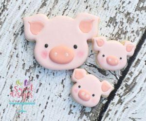 Cortador Porco / Fazendinha Inox
