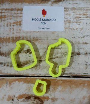 Cortador Picolé mordido (5 cm)