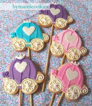 Cortador Cinderela para biscoito inox