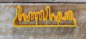 Cortador 3D Régua tinta derretida (10 x 3)