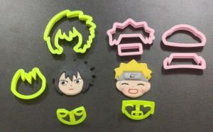 Cortador 3D Kit Naruto 5,5 cm
