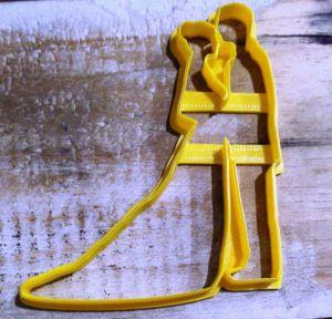 Cortador 3D Casal 10 cm