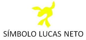 Cortador 3D  Simbolo Lucas Neto 8 cm